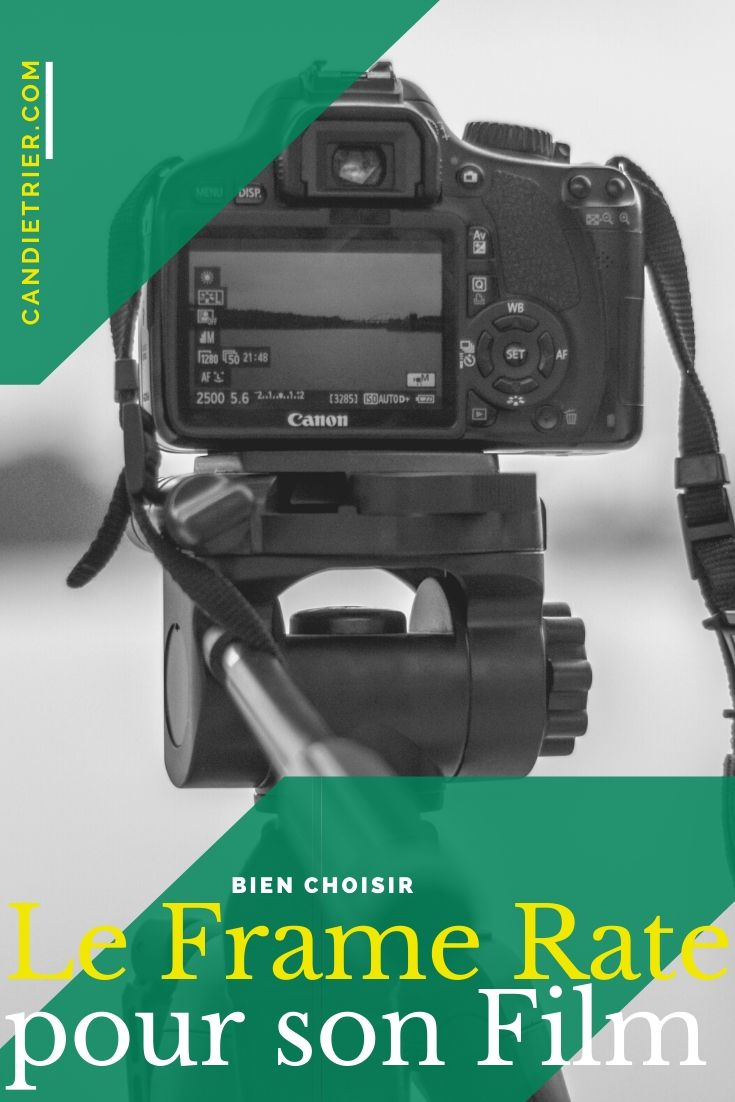 Bien choisir le frame rate de son film permet de maitriser le rendu final de celui-ci. #tournagevideo #choixartistique #framerate