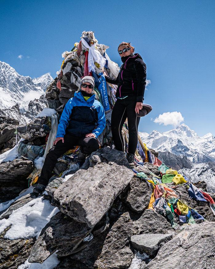Kong Ma La Pass à 5535 mètre d'altitude