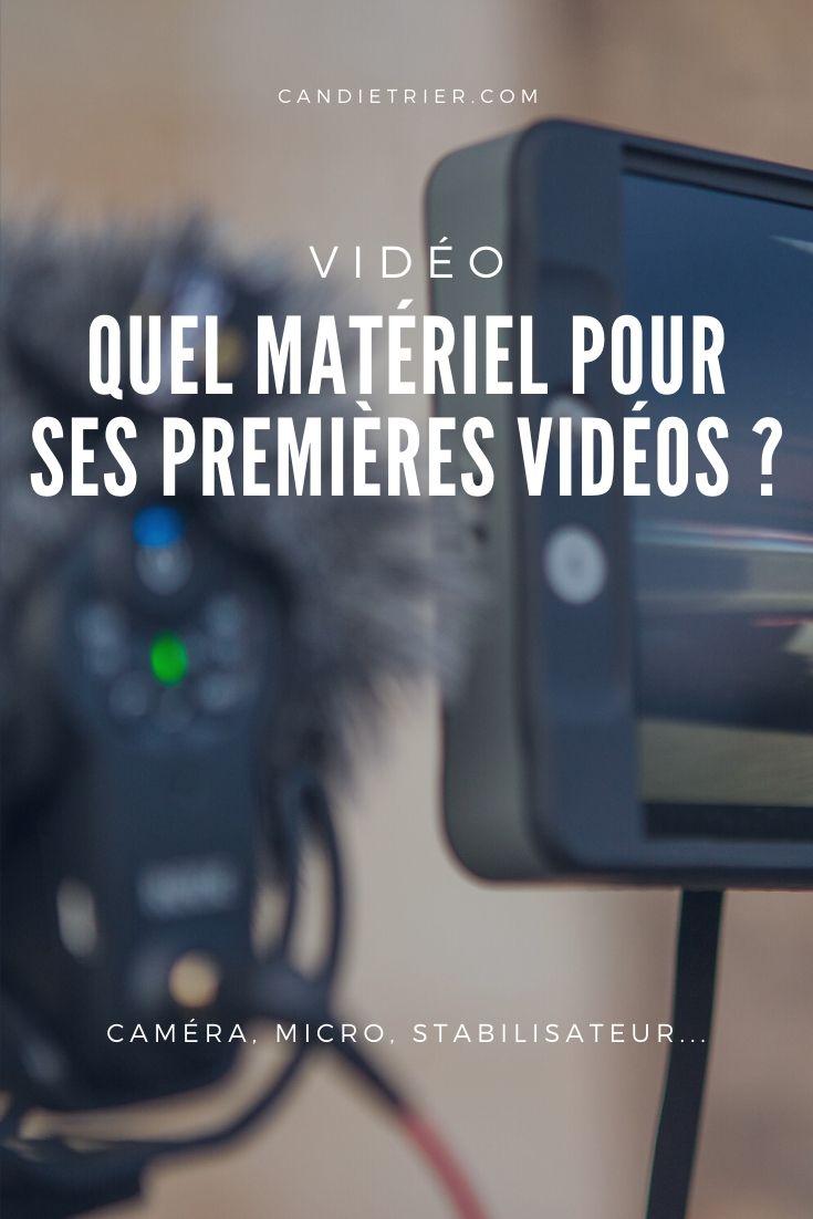 Un minimum de matériel est nécessaire pour débuter en vidéo, mais pas non plus besoin d'un setup de pro. Alors quel équipement choisir pour débuter en vidéo ? #apprendrelavidéo #débuterenvidéo #vidéoyoutube